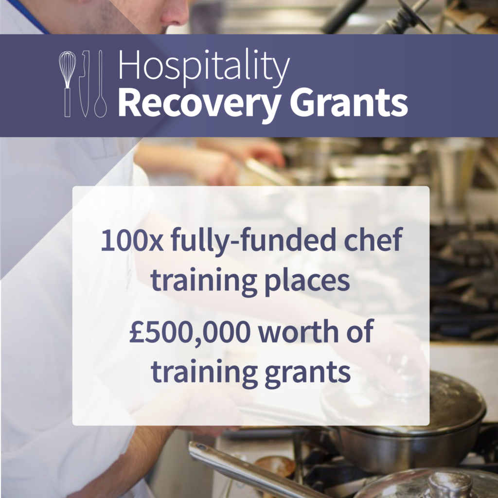 Hospitality Recovery Grants from Leiths Online Cookery School